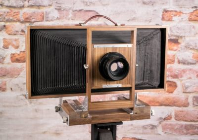 8×20 Panoramic Wet Plate Camera