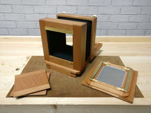 5×4 Tailboard Film Camera