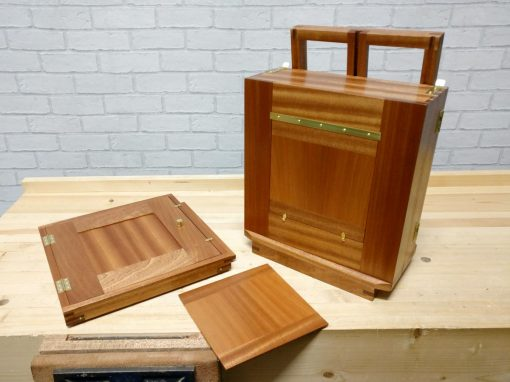 10×8 Mahogany Wet Plate Camera