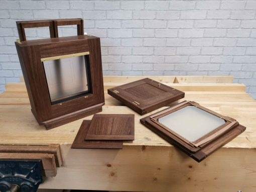 10×8 Walnut Wet Plate Camera