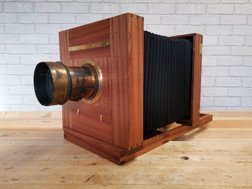 10×8 Tailboard Camera with Lens and Copal Lensboards