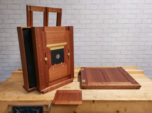 14×17 Tailboard Camera with Front Rise/Fall